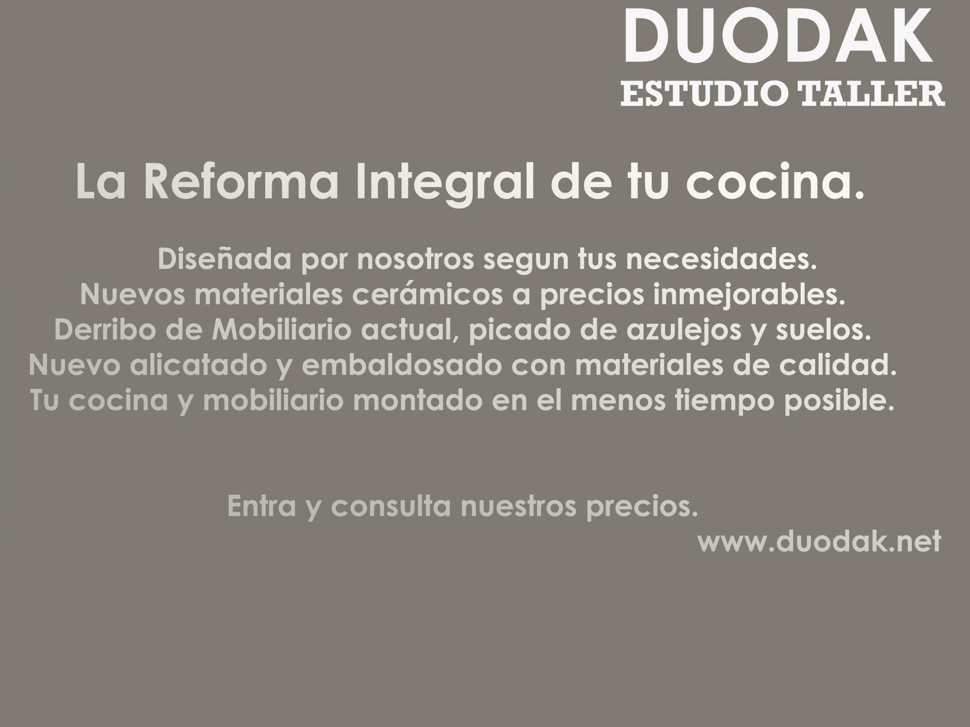 #duodak #cocinas #bilbao